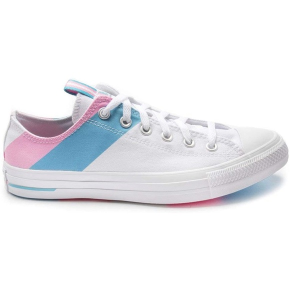 Converse Chuck Taylor Pride Pink Blue sneakers